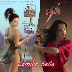 Camilla Belle pack on Gumroad by xenbis