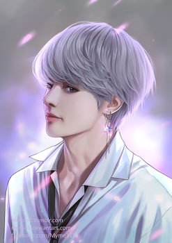 BTS - Kim Taehyung by Myme1