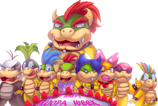Happy Koopa Week by HG-The-Hamster