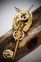Steampunk Key: Bird of Time by SATOSHI--BLADE