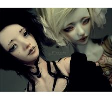 The opposites, the same. by Bluoxyde