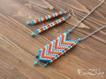 Handmade polymer clay suite Fancywork by EvrazhkaStudio