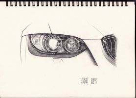BMW headlight by Jokohama