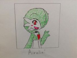 Airalin Fanart (RakkuGuy) by Gamerbroz47