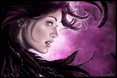 Raven by Maiafay
