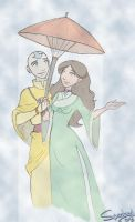 Kataang Week: Umbrella by Spootay