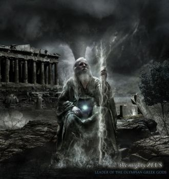 THE MIGHTY ZEUS ''father of all'' by s2headeagle