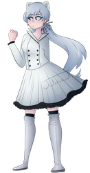 Commission - Afterglow-Weiss: Transparent by Jadersmod