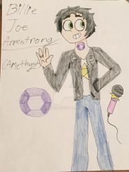 Billie Joe Armstrong (Amethyst) by RhiTES