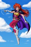 Lina Inverse Flying by wbd