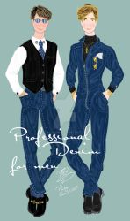 Professional Denim for Men by E-Ocasio