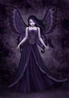Purple fairy by Enamorte