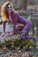 Astral Aggression 2 by BareBeautyBodypaint