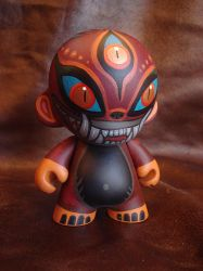 Custom Munny by missmonster