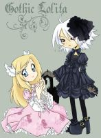 Gothic and Lolita by VegaNya