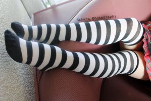 Knee-highs by AsharaPhotography