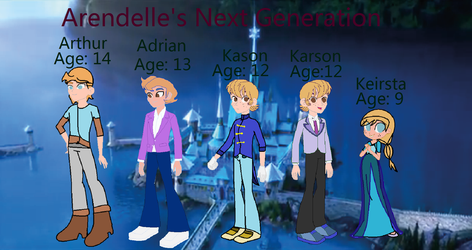 Arendelle's Next Generation by vanessa5400