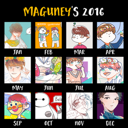 Art Summary 2016 by maguney