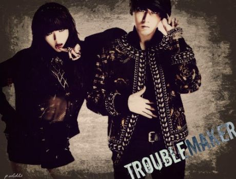 Troublemakers -Hyuna n HyunSeung by KateW49