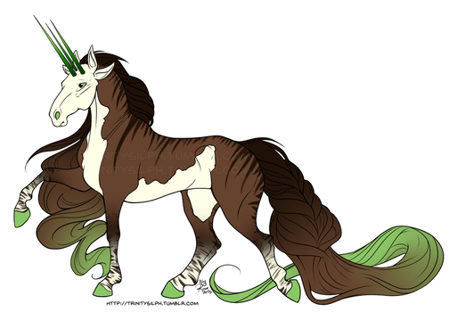 Design Commission - Chocolate Mint by TrinitySilph