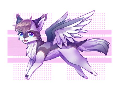 Wings (Commission) by Zharleste