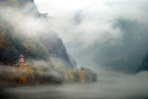 River mist by slimania
