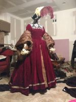 The Tudor Gourt Gown circa 1533 by TheMostHappy12