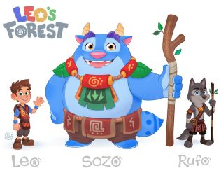 Leo and Friends by LuigiL