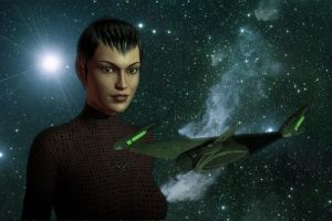 Romulan Female by jerriecan