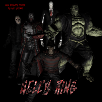 Hell's Ring Poster 2 by hank412