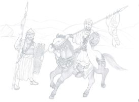 Early Muslim Army by Hashashin619