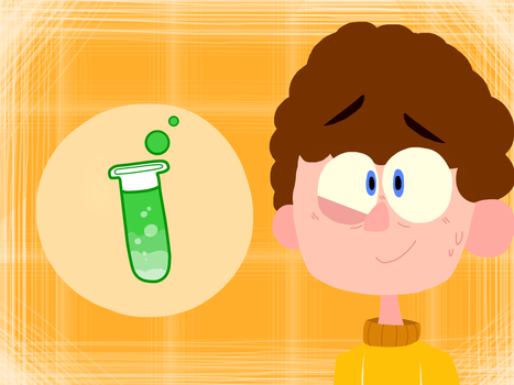Science boy by AndreaTheAngelFox10