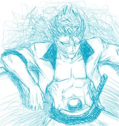 Grimmjow SCRIBBLES by ravefirell