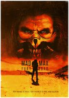 Mad Max Fury Road poster by tramvaev