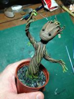 Baby Groot by Krats