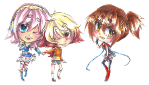 UTAU Chibis -Set 12- by shinamiEBA