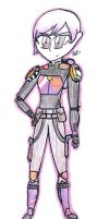Sabine Wren (fullbody drawing) by MafiPaint