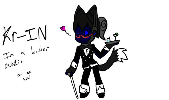Kr-in in a butler outfit by JPR1226