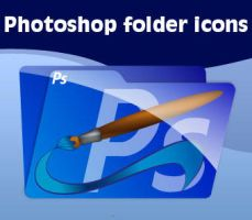 Photoshop folder icons by lille-cp