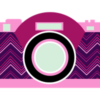 Clipart camera photography vintage PNG by Montse-glezz