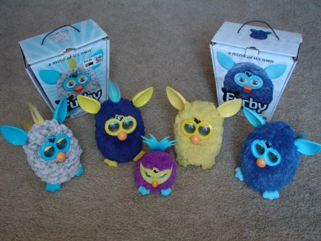 My Furby Collection: 2012 Furbys (Update 1) by sbfan101909