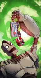 iron giant vs optimus prime by m7781