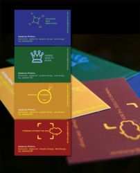personal business cards by crossbow