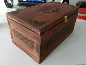 Wooden Box by Larien1121