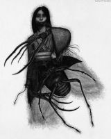 Kuchisake-onna The Slit Mouthed Woman Ghost by Pyramiddhead