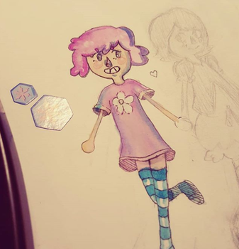 YIKES remind me to never use watercolor again by Mewtres