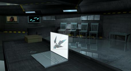 3D lab room by Net-Zone-Network