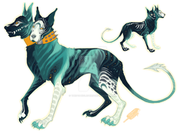 Hell Hound Adopt [closed] by ThePopsicleThief