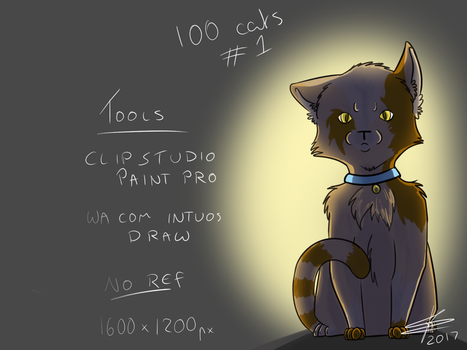 100 cats - 001 by BaileyisDarcy