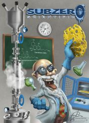 The mad scientist by aladecuervo